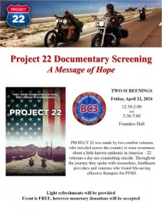 Project 22 Flyer